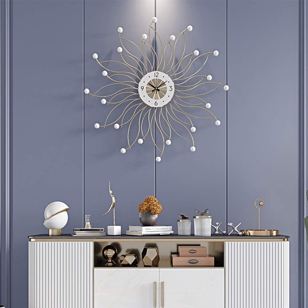 MUMUWU 掛け時計 掛け時計 壁掛け ホーム 玄関 ベッドルーム 北欧の装飾58 * 58(cm)の クリスマスプレゼント