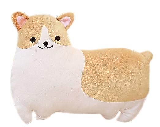 Corgi perro forma suave peluche manta almohada animales ...