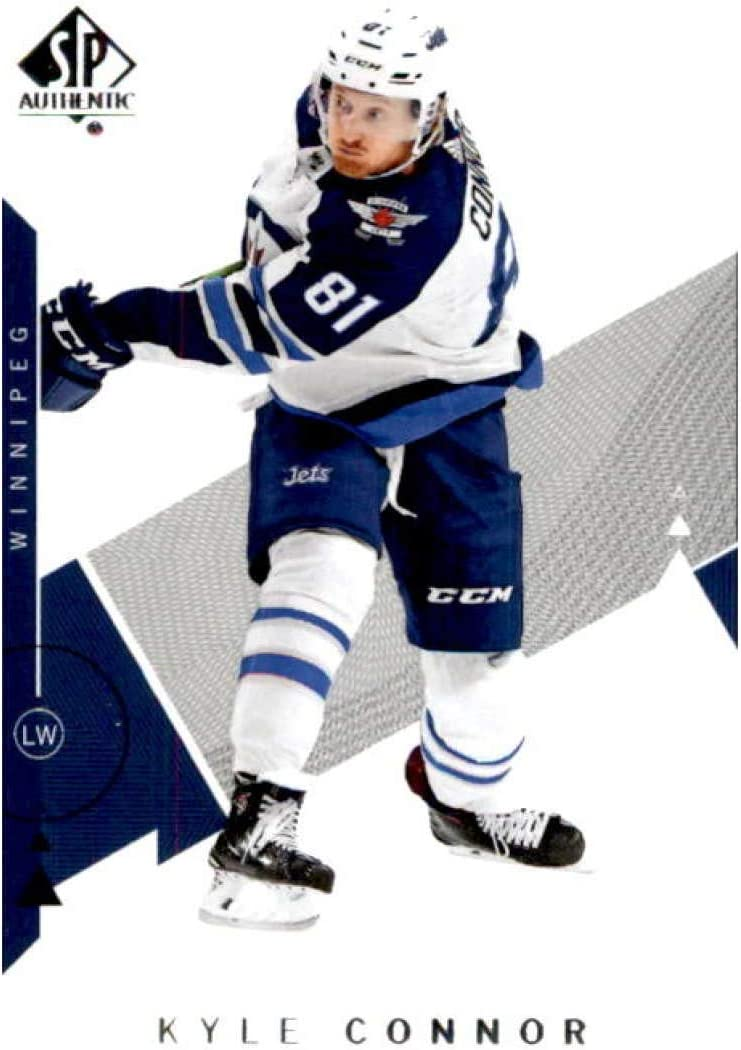 Amazon Com 2018 19 Sp 56 Kyle Connor Winnipeg Jets Hockey Card Collectibles Fine Art