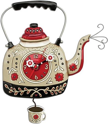 Allen Designs Kettle s On Pendulum Clock