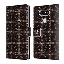 Head Case Designs Moroccan Dome Kaleidoscope Print Leather Book Wallet Case Cover For LG V10
