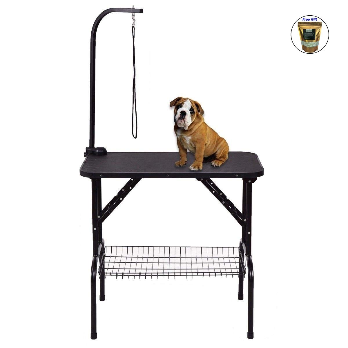 CWY 32'' Pet Grooming Table Durable Foldable Rubber Top Only by eight24hours by CWY