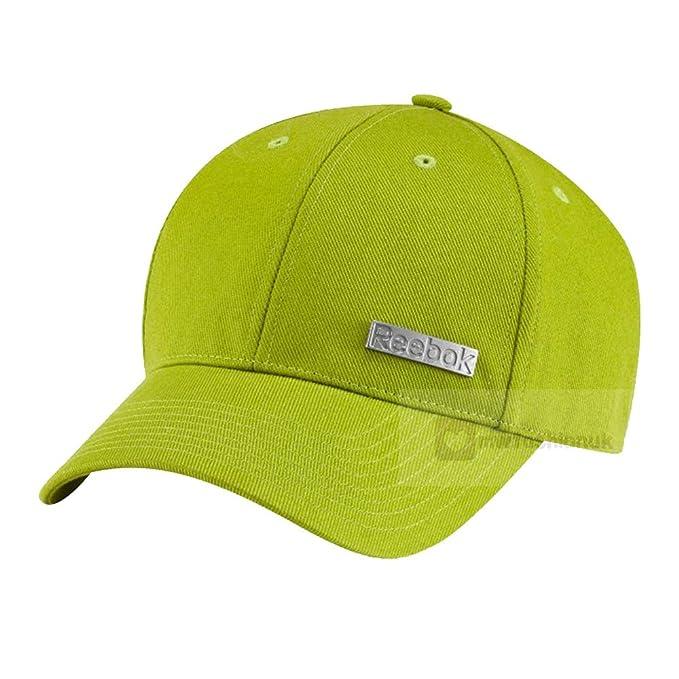 Reebok - Gorra de béisbol para hombre de golf para mujer deporte Casual verde correa ajustable nuevo: Amazon.es: Ropa y accesorios