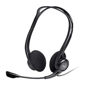 Logitech PC 960 - Auriculares de diadema abiertos (con micrófono)