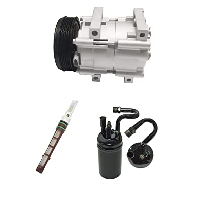 RYC Remanufactured AC Compressor Kit KT AD28: Automotive