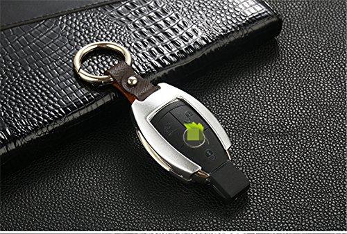 ... [MissBlue] Aircraft Grade Aluminum Key Fob Cover For Mercedes Benz Key,  ...