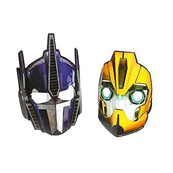 Amakando Antifaz Autobots Optimus Prime Bumblebee 6 máscaras ...