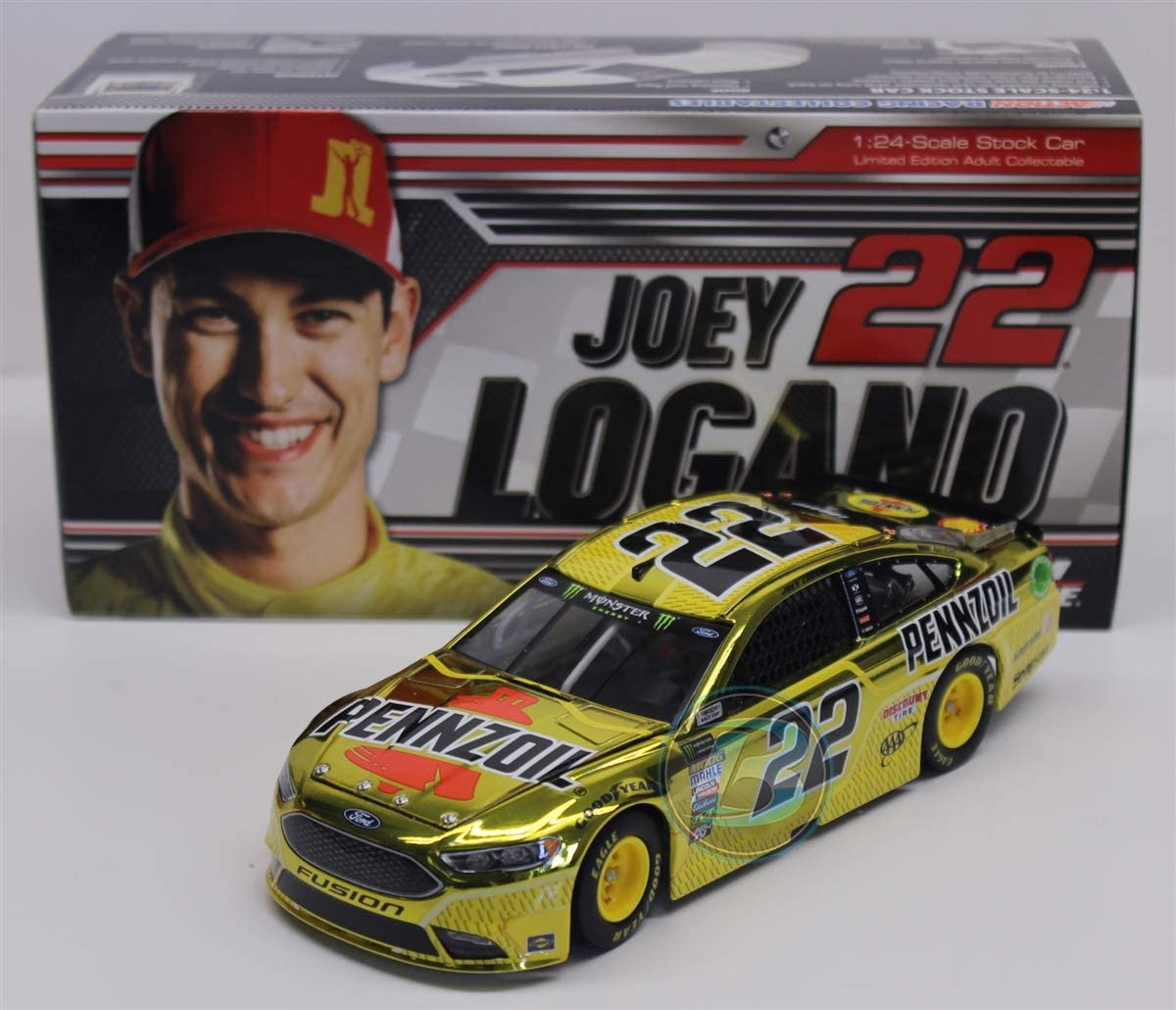 Autotrader Lionel Racing NASCAR Diecast 1: 64 Scale Joey Logano 2019 Ford Mustang