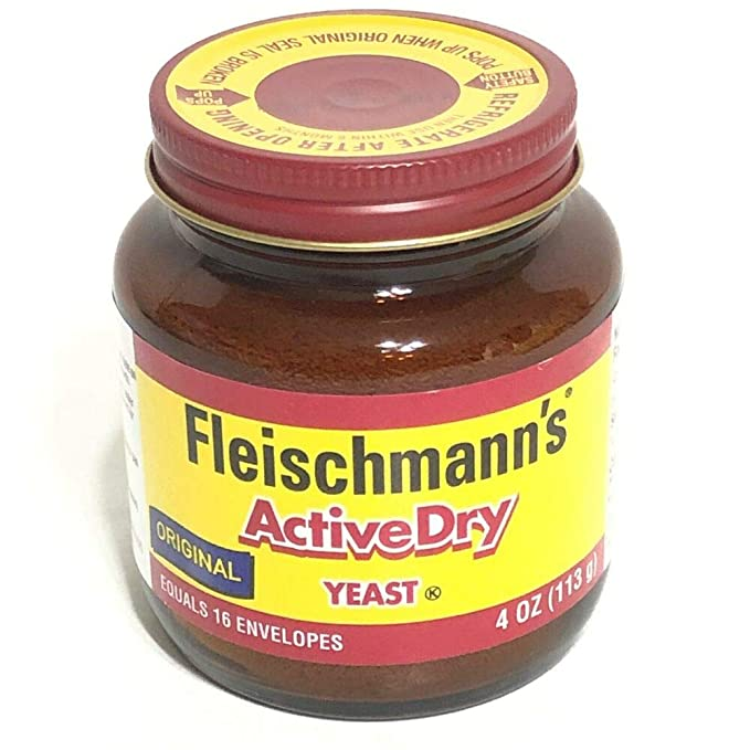 Amazon.com : Fleischmanns Classic Active Dry 4 oz Yeast Bread Exp 2021 or 2022 Original Rise : Grocery & Gourmet Food