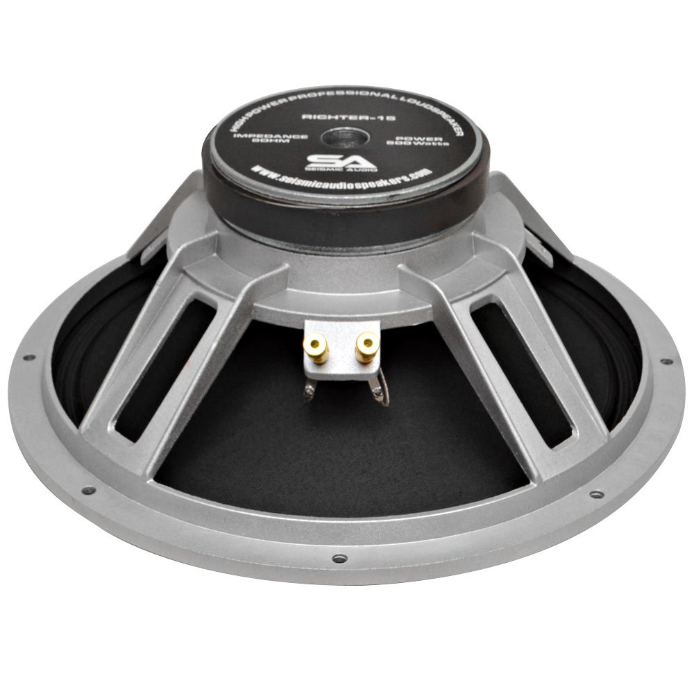 Seismic Audio - Richter 15 - 15'' PA/DJ Raw Replacement Woofer or Speaker 500 Watts by Seismic Audio (Image #4)