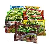 30er Yum Yum Instant Nudelsuppen Mix 1,8kg - 13 Sorten Mix