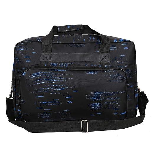 Bolsa para máquina de coser, portátil, de gran capacidad, de nailon, para viajes, herramientas de máquina de coser, nailon, azul, 450.00 * 310.00 * ...