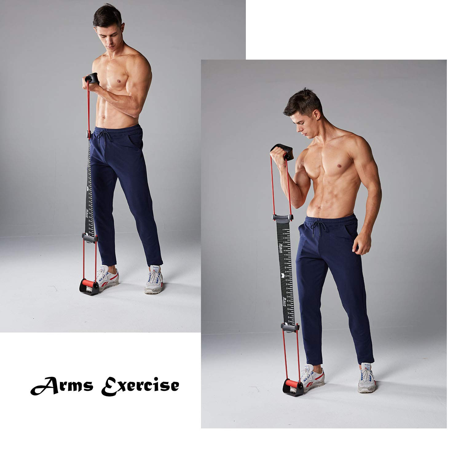 Shoulder Back and arm Muscles with Push-ups MetaBall Push up Stand Bar Resistance Band Power Push up Plus 24 Resistance Levels for Chest Flies All in one Exercise Home Gym