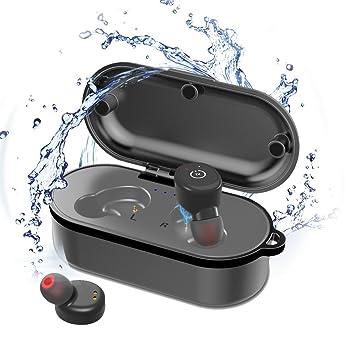 JIAN YA NA P68 Auriculares de natación a prueba de agua ...