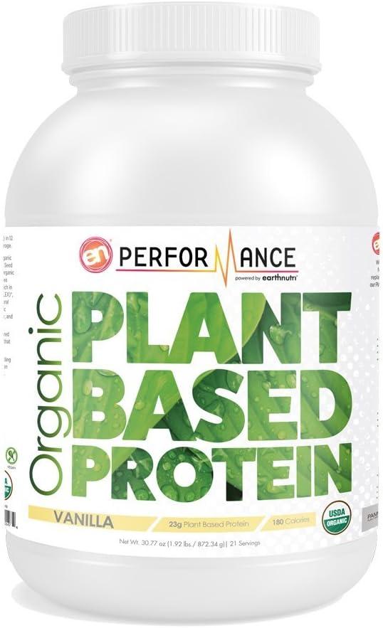 EarthNutri Organic Plant Based Protein – Vanilla