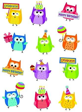 Amazon.com : Creative Teaching Press Happy Birthday Stickers (4406 ...
