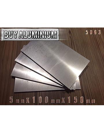 28,40 EUR//m + 1,00 EUR par coupe 1 10mm Plaque de fonte daluminium EN AW-5083 Largeur : 120 mm - Longueur : /Épaisseur : 6 mm Longueur au choix