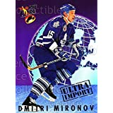 Dmitri Mironov Hockey Card 1992-93 Ultra Import #15 Dmitri Mironov