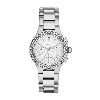 9a1e2311bc583 DKNY NY2258 Chambers For Women - Analog Stainless Steel Band Watch ...