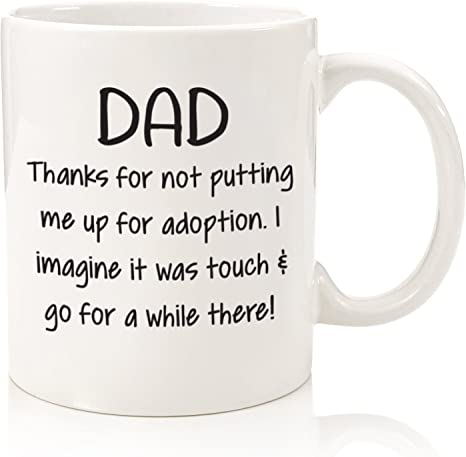 COOL FUNNY BIRTHDAY XMAS GIFT For DAD SON FATHER HIM HER MUM UNCLE KID CHRISTMAS