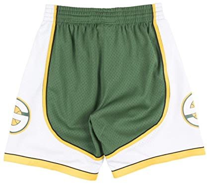 d5d2037bc92 Mitchell   Ness Seattle Supersonics NBA Swingman Men s Mesh 2007-08 Shorts