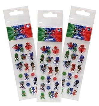 PJ Masks Stickers Relieve (CYP ST-12-PJ)