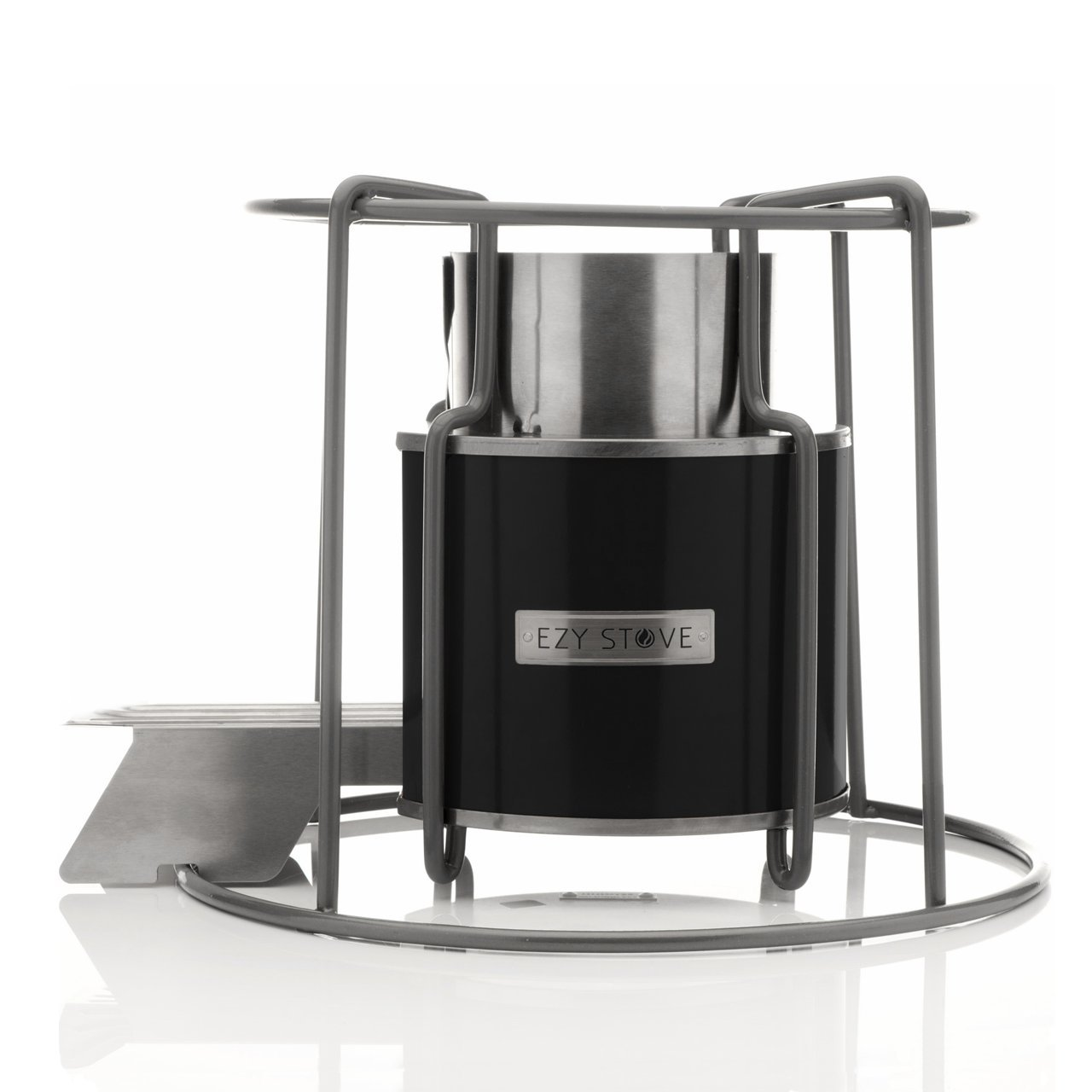 Amazon.com: Affirm Global IT117469BBLK Wood Burning EZY Stove ...