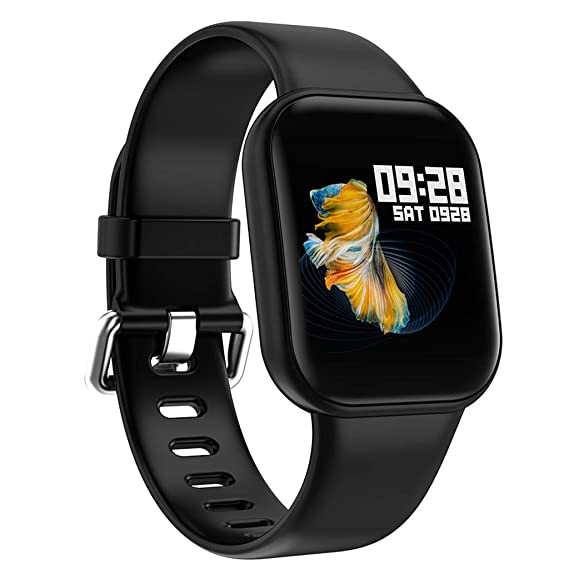 CAOQAO Reloj Inteligente Hombre Mujer Unisex Deportes ...
