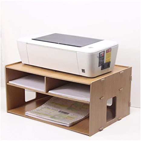 Desktop File Organizer Bookshelf Storage Rack Bookcase Organizer for Office Room
