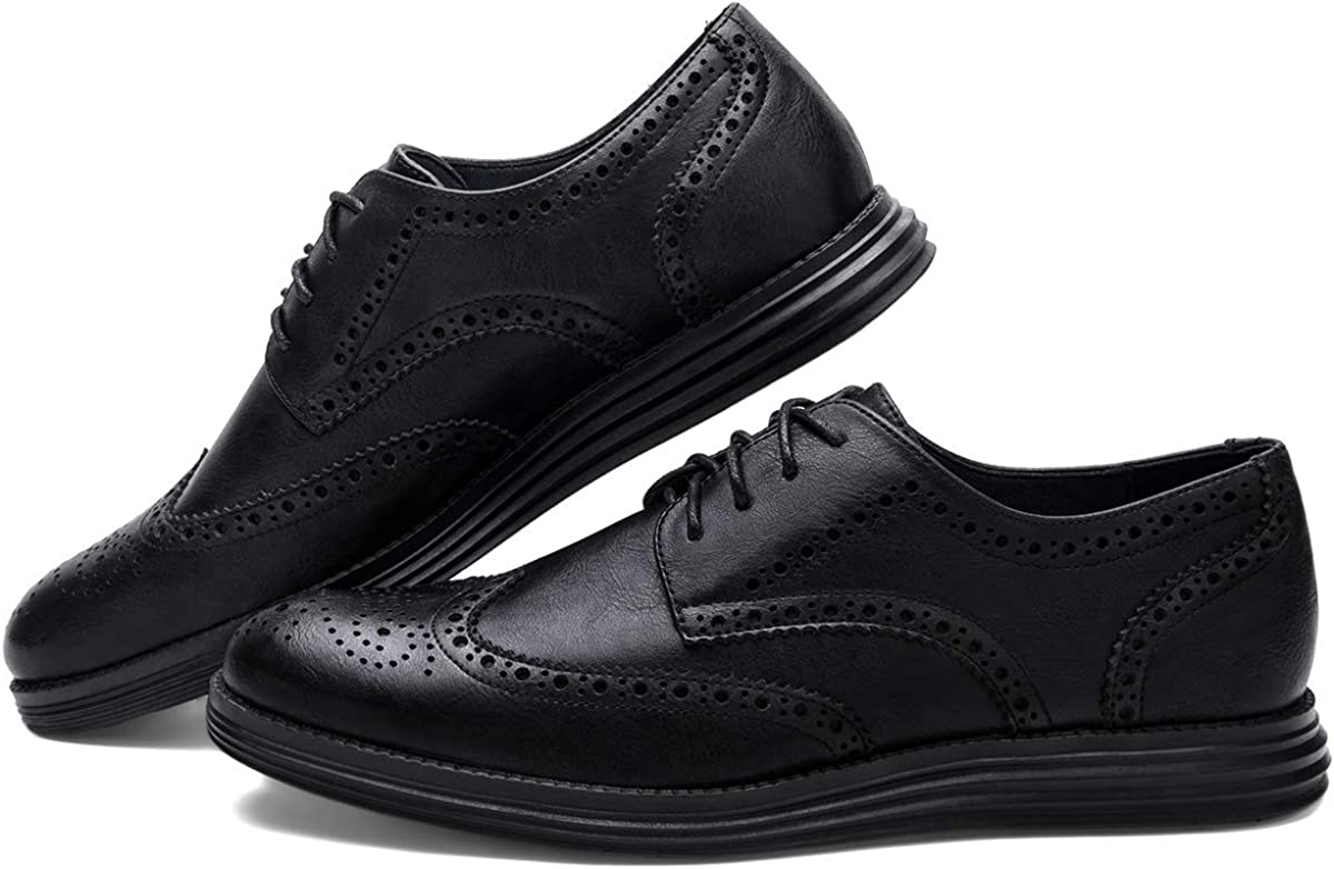 Wingtip Dress Shoes Stylish Sneaker