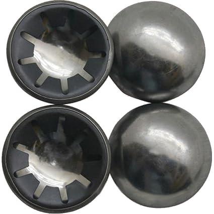 4 pieza DKB Acero Anillo de seguridad) M. metal Tapa para ejes 20 mm