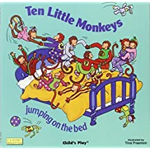 Ten Little Monkeys Jumping on the Bed (Classic Books With Holes) (2003-06-03)