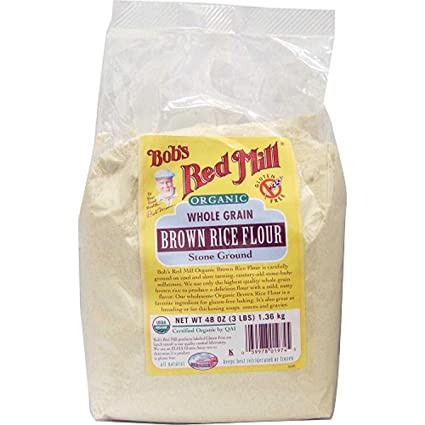 De Bob Red Mill orgánico harina de arroz integral – 25 lb ...