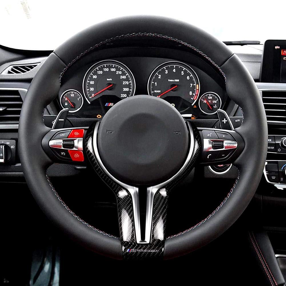 Bot/ón de Modo M1 Cherishly Bot/ón Azul Rojo Personalizado en el Volante 2 Piezas M2 Compatible para BMW 2013-2020 F80 F82 F83 M3 M4 Cabina