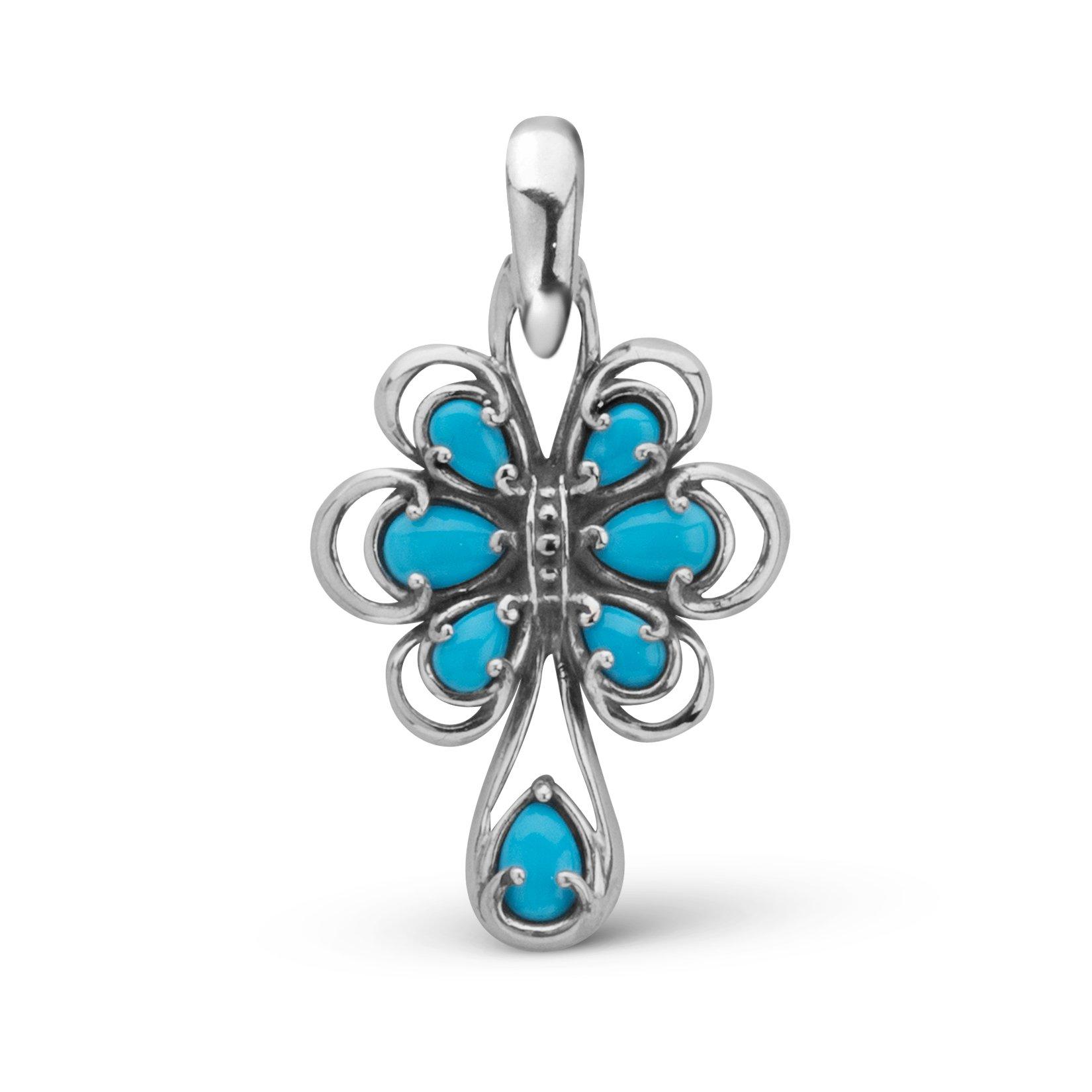 Carolyn Pollack Sleeping Beauty Turquoise Enhancer Pendant