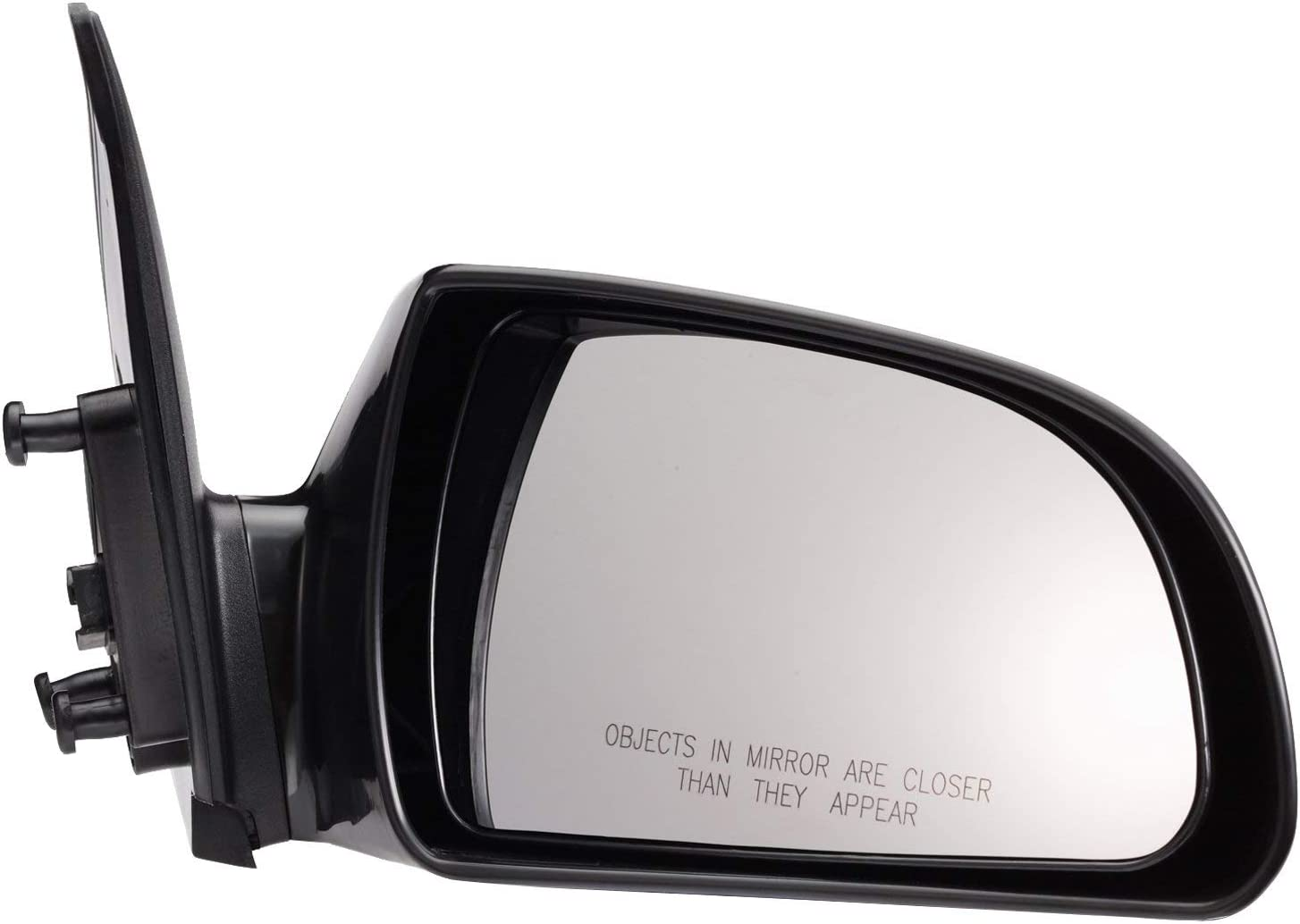 HY1321149 Roane Concepts Replacement Right Passenger Side Door Mirror Black for 2006-2010 Hyundai Sonata Power Non-Heated