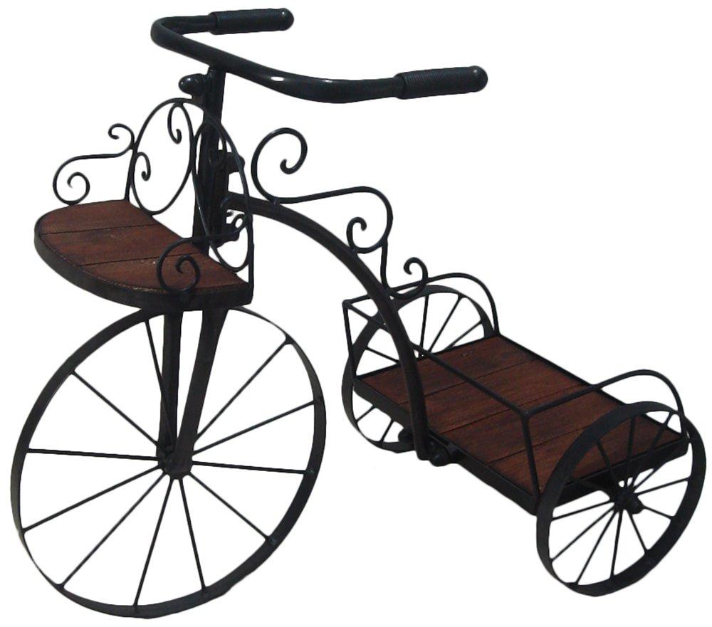 かわ畑 花台 自転車型プランター 1601IFH001 B079FPCNFD 自転車型プランター 1601IFH001