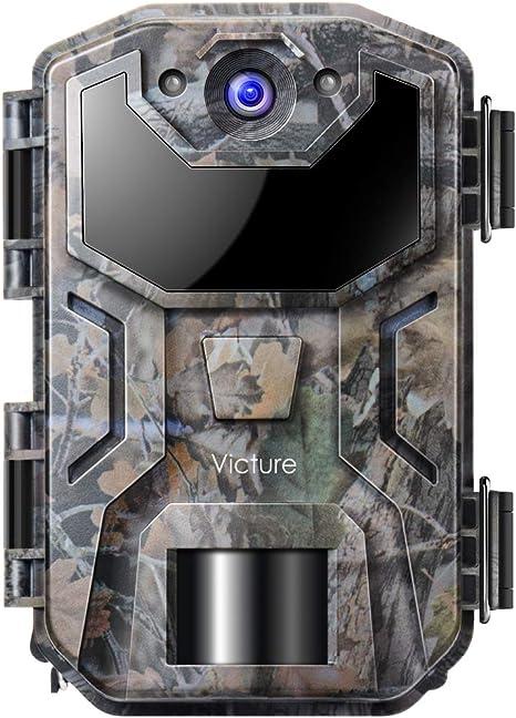 Victure Cámara de Caza Nocturna 20MP 1080P con Diseño Impermeable ...