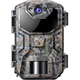 Victure Trail Game Camera 20MP 1080P Full HD with Night Vision Motion Activated Waterproof IP66 Wildlife Trap Camera No Glow