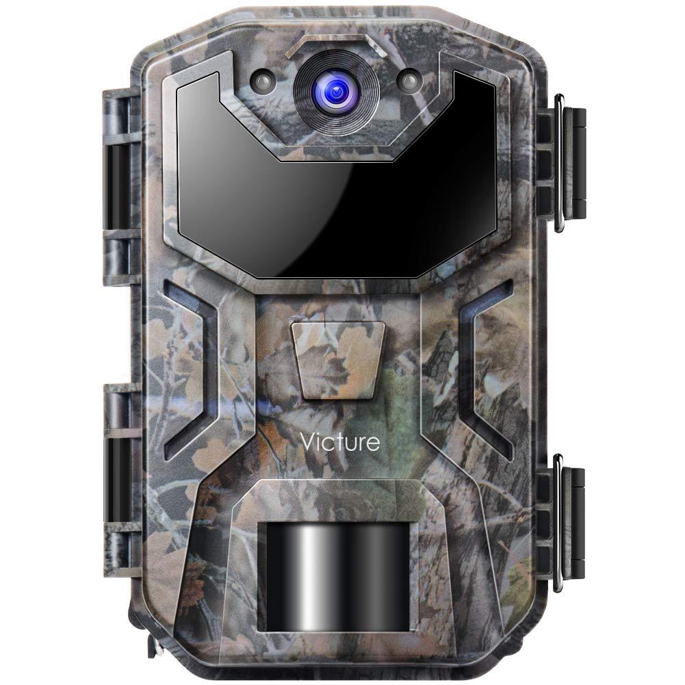 Victure Caméra de Chasse Infrarouges Surveillance 16MP 1080P HD Vision Nocturne Étanchéité à la Norme IP66, 38 Capteurs LED de 940nm, Activé par Le Mouvement pour Observer la Faune product image