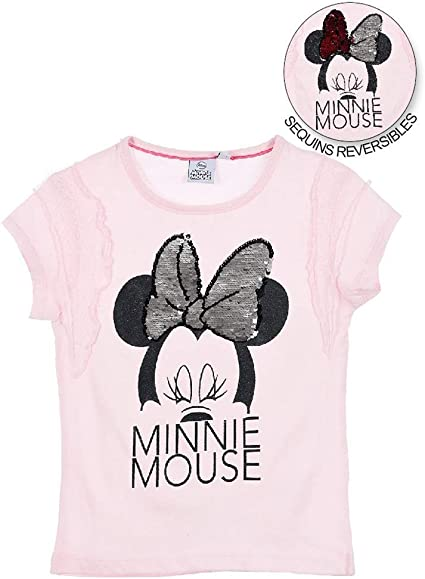 Minnie Mouse Bambina T Shirt Maniche Corte