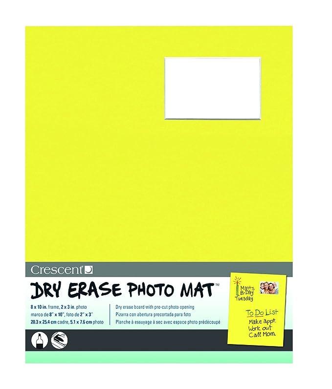 Crescent cartón Co borrado en seco (20,32 cm x 25,4 cm marco para ...