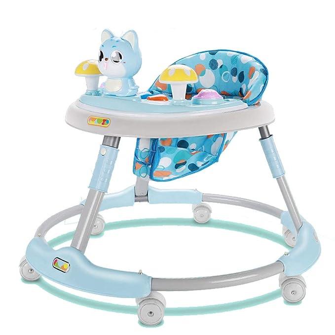 Baby Walkers, 6-18 Meses bebé Plegable Anti-Rollover Puede ...