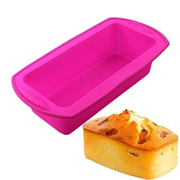 atekuker, de forma rectangular pastel molde de silicona, para tartas (L) 8.66