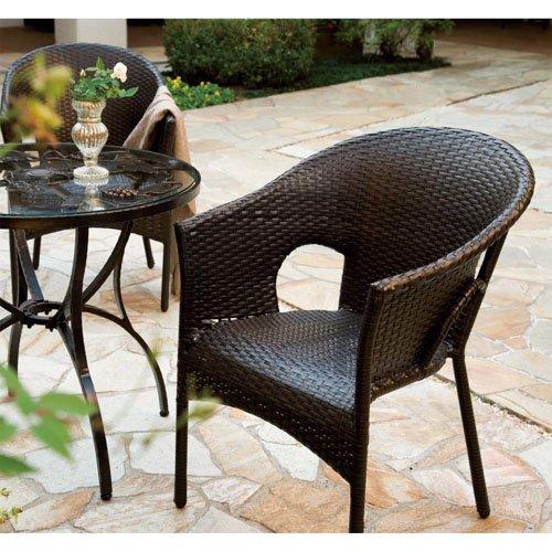 ガーデンチェア 椅子 Chair 手編み高級人工ラタン ウィッカー ガーデンファニチャー 13DN-C B01JU8G9MK Parent