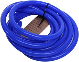 Hiwowsport 10' Length High Temperature Silicone Vacuum Tubing Hose Blue Color (10MM(3/8 Inch))