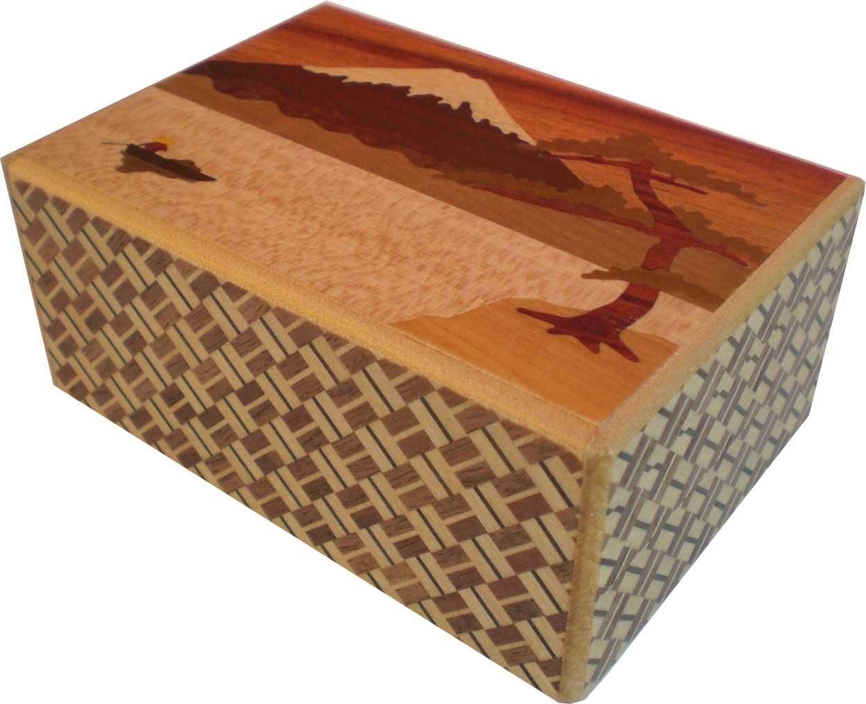 Caja de secretos Himitsu Bako del Japón 4 movimientos suns 7: Amazon.es: Hogar
