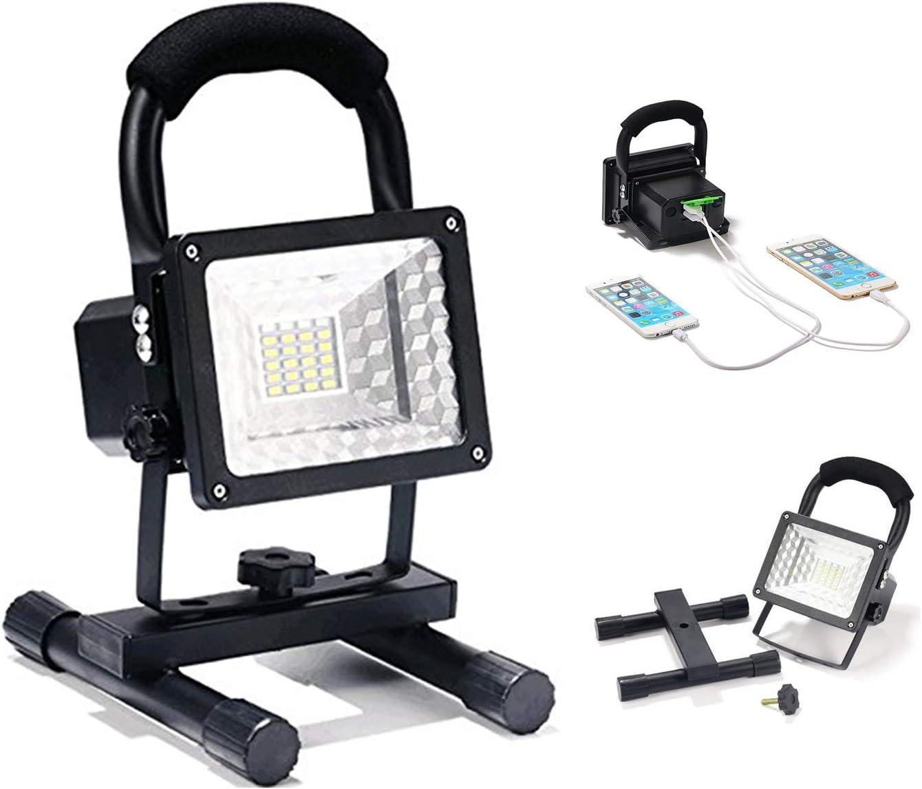 15W 24 LED IP65] Lanfu Foco Trabajo Lámpara Proyector Iluminacion ...