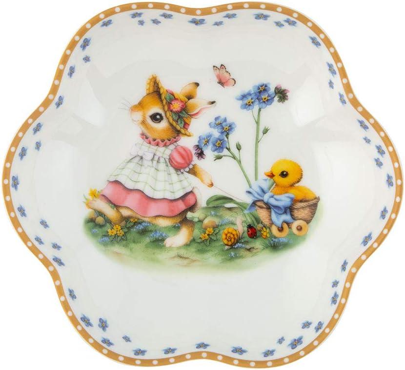 Multi-Coloured Decorative Dinner Plate for Easter 16 x 3 cm Premium Porcelain Villeroy /& Boch Annual Edition 2020 16x3