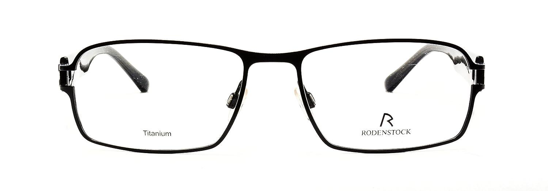 Amazon.com: Rodenstock eyeglasses R 4887 A Titanium frames,Size:56 ...